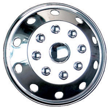 "Picture of Wheel Masters  Single 16"" 8-Lug Wheel Cover 7160B1 17-2813"