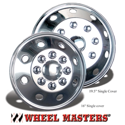 "Picture of Wheel Masters  4-Set 16"" 8-Lug Wheel Cover 3160B0 17-2820"