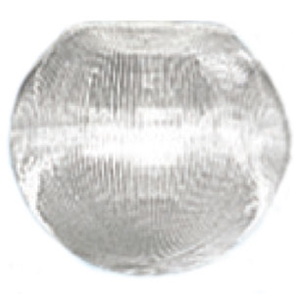 "Picture of Polymer Products  6"" Clear Prismatic Globe 3202-51630 18-0037"