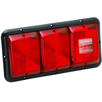 "Picture of Bargman 84 Series Red 14-1/16""x6-15/16""x1-1/4"" Tail Light 34-84-009 18-0055"
