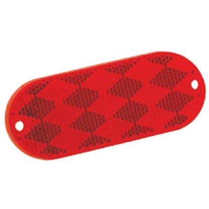 "Picture of Bargman  2-Pack 3-1/4""x1-1/2"" Rectangular Red Stick-On/Screw Mount Reflector 71-78-010 18-0071"