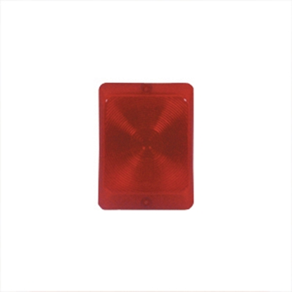 Picture of Bargman  Red Stop/Turn/Taillight Replacement Lens 34-84-010 18-0072