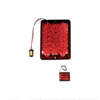 Picture of Bargman 84 Series Red LED Stop/ Tail/ Turn Light 47-84-410 18-0100