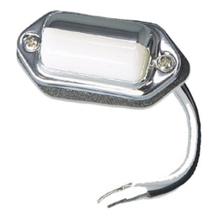 Picture of Bargman  Chrome Plated License Plate Light 34-62-000 18-0138