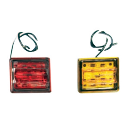 Picture of Bargman 86 Series Red LED Side Marker Light 42-86-410 18-0150