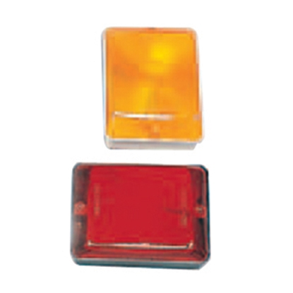 Picture of Bargman  Red Side Marker Light Lens For Bargman 59 Series 42-59-410 18-0173