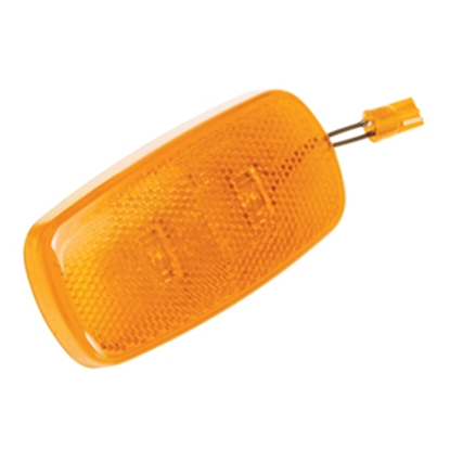 "Picture of Bargman 59 Series Amber 4""x2""x1-1/32"" LED Side Marker Light 42-59-412 18-0174"