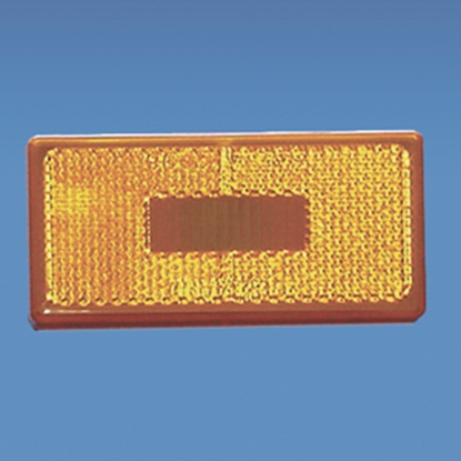 "Picture of Command  Amber 3-7/8""L x 1-7/8""W x 1-3/4""H Clearance Side Marker Light 003-55 18-0207"