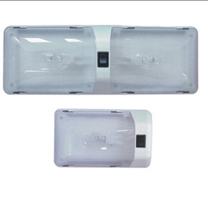 Picture of Command Command Mega Star White Single Dome Light 001-801XP 18-0216