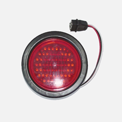 "Picture of Command Command (R) Red 4-1/4""x1-3/4"" 62 LED Stop/ Turn/ Tail Light 003-5520R 18-0227"