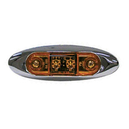 Picture of Peterson Mfg.  Amber Clearance LED Side Marker Light V168XA 18-0345
