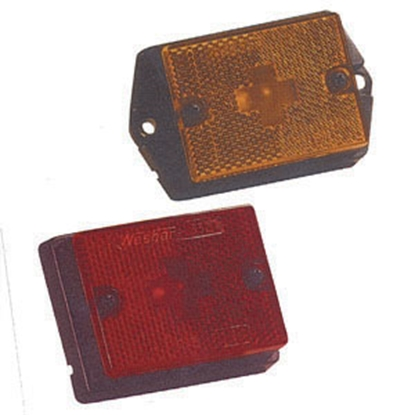 "Picture of Bargman  Amber 3-1/8""x2-3/8""x1"" Side Marker Light 203131 18-0358"