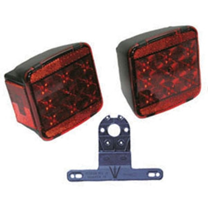 Picture of Peterson Mfg.  Red LED Rear/ Tail Light V941 18-0364