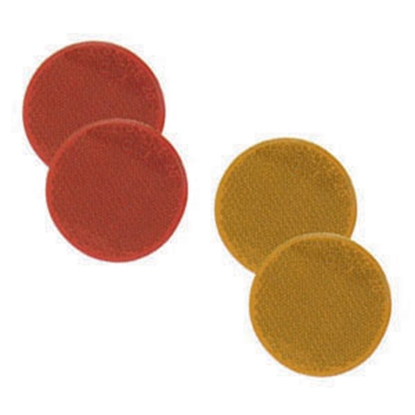 "Picture of Bargman  2-Pack 2-3/16"" Round Red Screw Mount Reflector 74-71-170 18-0395"