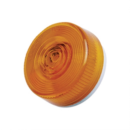 Picture of Peterson Mfg.  Amber Lens for Peterson Series 100A/R, 104A/R, 104-3R, 131A/R, 141A/R 100-15A 18-0428