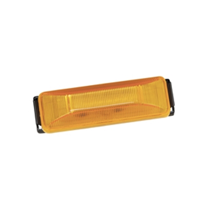 "Picture of Bargman 38 Series Amber 3.93""x1.22""x1.02"" LED Side Marker Light 42-38-034 18-0457"