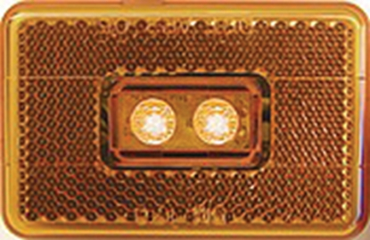 Picture of Peterson Mfg.  Amber Clearance LED Side Marker Light V170A 18-0537