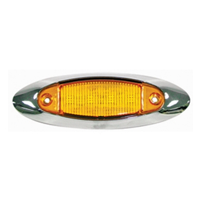 Picture of Peterson Mfg.  Amber Clearance LED Side Marker Light V178XA 18-0538