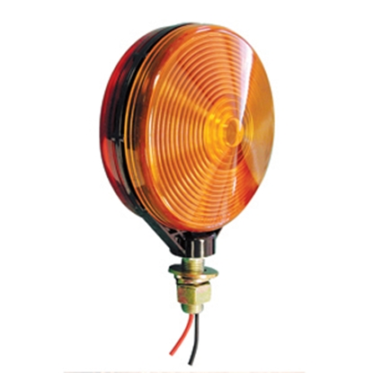 Picture of Peterson Mfg.  Amber Stop/Tail/Turn Signal Light Lens for Peterson Series 313 & 314MA 313-15A 18-0541