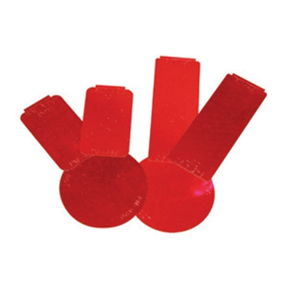 Picture of Peterson Mfg. Spitfire 6-Pack Red Stick-On Reflector V493KR 18-0550