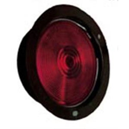 "Picture of Peterson Mfg.  Red 5-1/2"" Round Stop/ Turn/ Tail Light 425 18-0676"