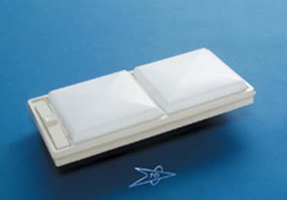 Picture of Progressive Dynamic 750 Series White w/White Lens Ceiling Mount Interior Light w/Switch PD752WWV 18-0856