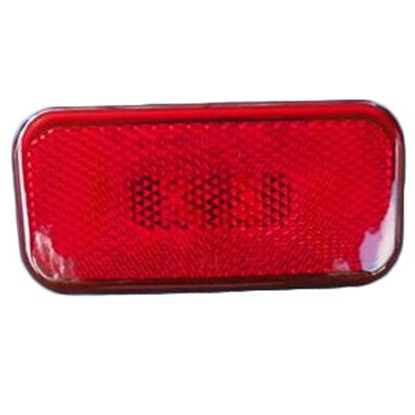 "Picture of Command  Amber 3-7/8""L x 1-7/8""W x 1-3/8""H Clearance LED Side Marker Light 003-58LB 18-0871"