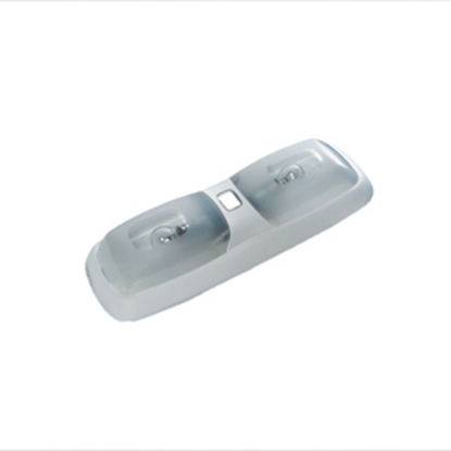 Picture of Progressive Dynamic 780 Series White w/Clear Lens Ceiling Mount Interior Light w/Switch PD782WSBCV 18-0895
