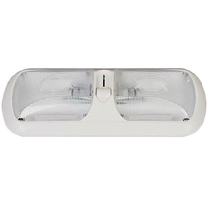 Picture of Arcon  Bright White w/ Optic Lens Double Euro Style LED Dome Light 51268 18-0936