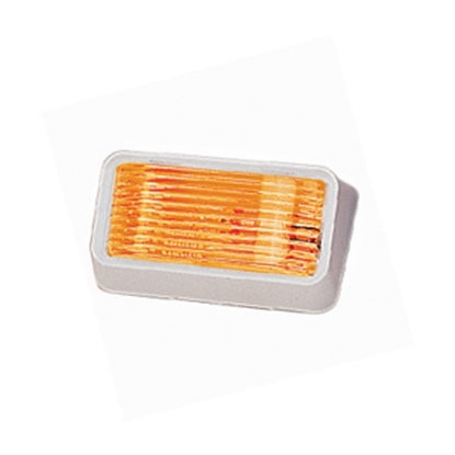 Picture of Bargman 78 Series Clear White Base Porch Light 34-78-515 18-1004