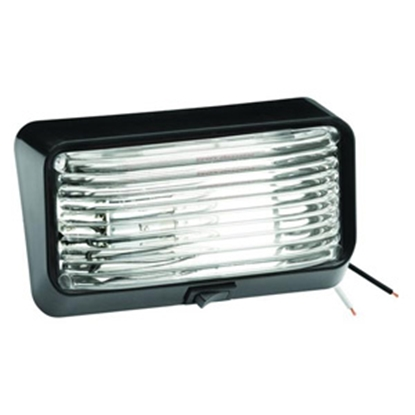 Picture of Bargman 78 Series Porch Lite Clear Blk Base 30-78-524 18-1063