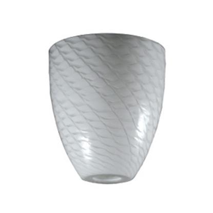 Picture of ITC  White Comtemporay Weaveblown Glass Pendant Light Shade 2090-WW-D 18-1342