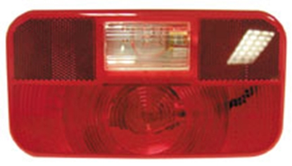 Picture of Peterson Mfg.  Red Snap-On Trailer Light Lens V25922-25 18-1445