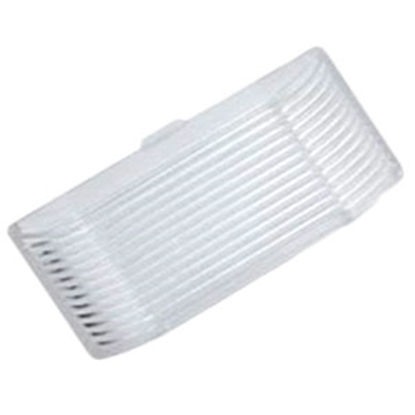 Picture of Green LongLife  Clear Rectangular Porch Light Lens for Ming's Mark 9090119/9090120 9090127 18-1453