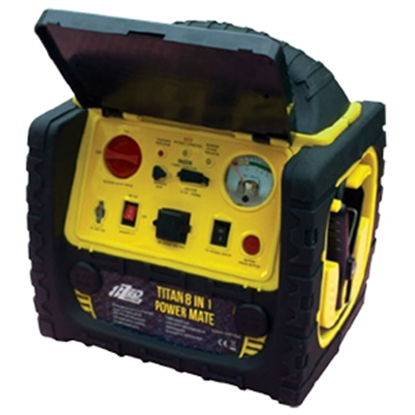 Picture of Tri-Lynx 8ZED (TM) 1800A 6-In-1 Battery Jump Starter w/Compressor & LED Lights 00039 18-1474