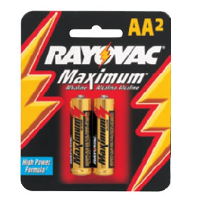 Picture of Rayovac  6-Card Alkaline AA Batteries 815-6 18-1543