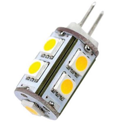 Picture of Arcon  6-Pack 12V Soft White 9-LED #JC10 Tube 51466 18-1661