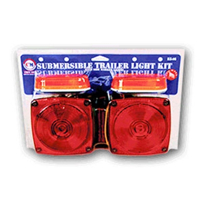 Picture of Peterson Mfg.  Red Stop/ Turn/ Tail/ Rear Light E546 18-1782