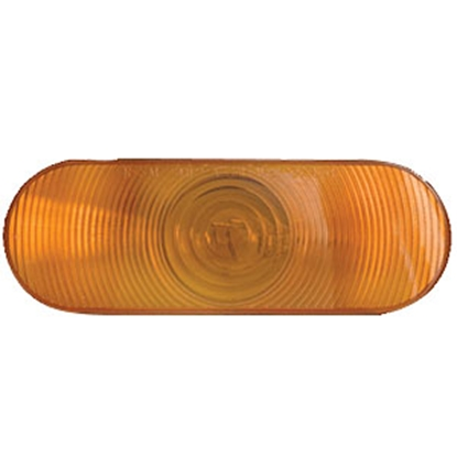 "Picture of Optronics  Red 6"" Oval Stop-Turn-Tail Light Only ST-70ABP 18-1861"