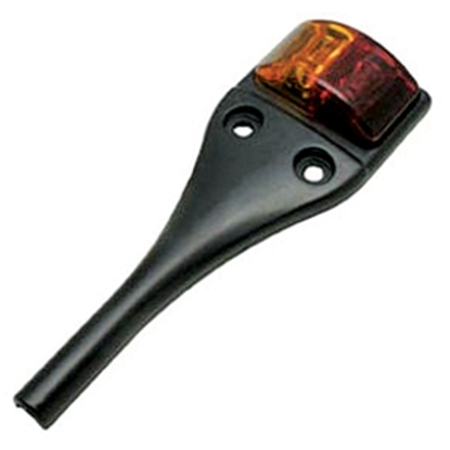 "Picture of Diamond Group  Amber/ Red 6-1/4""L x 2-1/4""W x 3/4""D LED Side Marker Light 52444 18-2225"