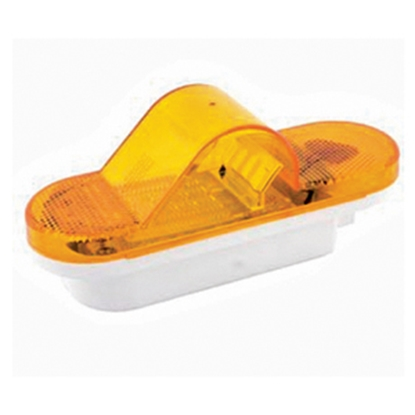 "Picture of Diamond Group  Amber 6-5/8""L x 2-3/8""W x 2-3/4""D Clearance LED Side Marker Light 52449 18-2229"