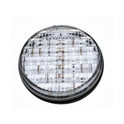 Picture of Diamond Group  White Bulb Round Housing Grommet Mount LED Back Up Light 52507 18-2234