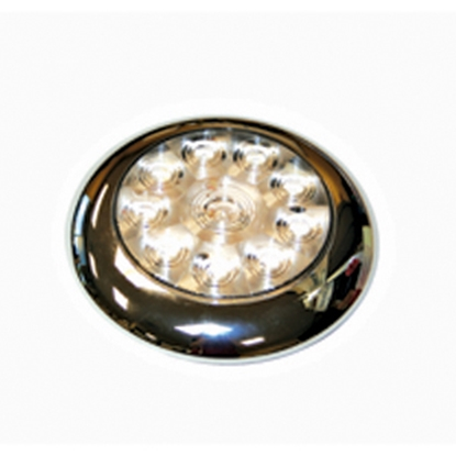 "Picture of Diamond Group  Single 5-5/8""Diax3/4""D White 0.14 Amps LED Utility Light 52528 18-2239"