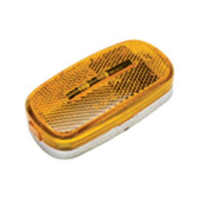 "Picture of Diamond Group  Amber 4"" x 2"" LED Side Marker Light 52711 18-2275"