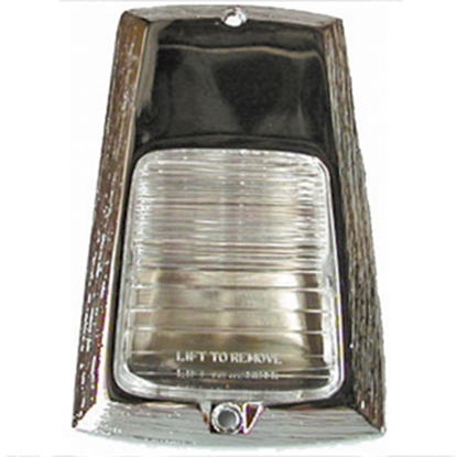 Picture of Command  Clear Porch Light Lens for Command P-1327 P-1328 18-2281