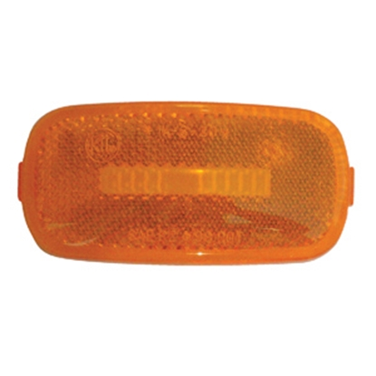 Picture of Diamond Group  Amber Side Marker Light Lens for Diamond Group 52711/52713 52716 18-2282