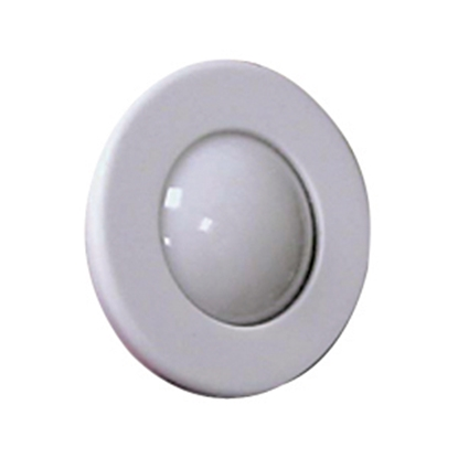 Picture of ITC  White Bezel Recessed Round LED Dome Light 69662-W-D 18-2317