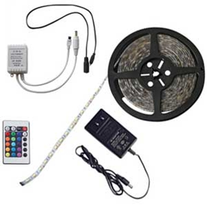 Picture of Diamond Group  16 Color 16' LED Dimmable Rope Light 52688 18-4023