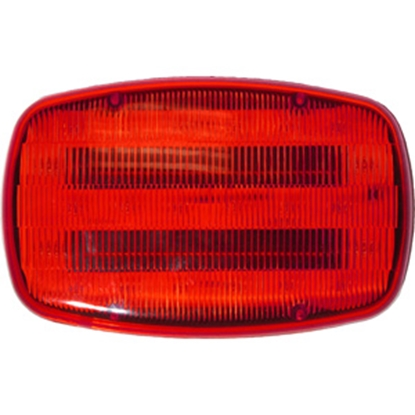 Picture of Peterson Mfg.  LED Flashing Hazard Light, Red V316MR 18-4105