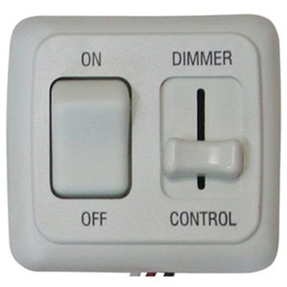 Picture of Diamond Group  White 15A/ 12V Pulse Wave Modulation Dimmer Switch LDSDIM01 18-5031